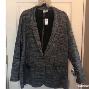 Charcoal blazer from Gap!